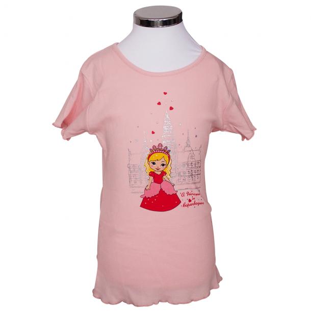 T-shirt Prinsesse Og Slot