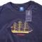 T-shirt Tall Ship Danmark Broderet