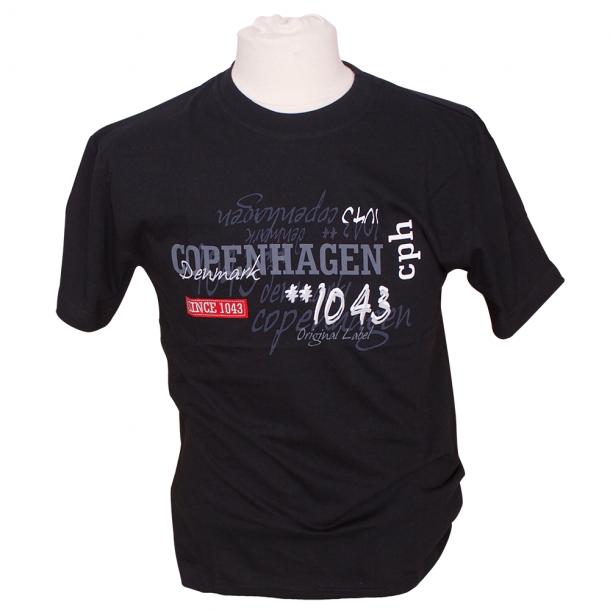 T-shirt 1043 Sort