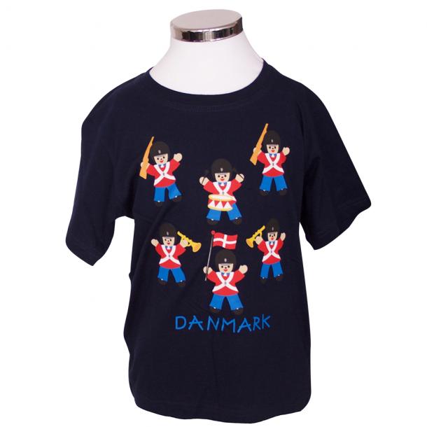 T-shirt Garder Sort Barn