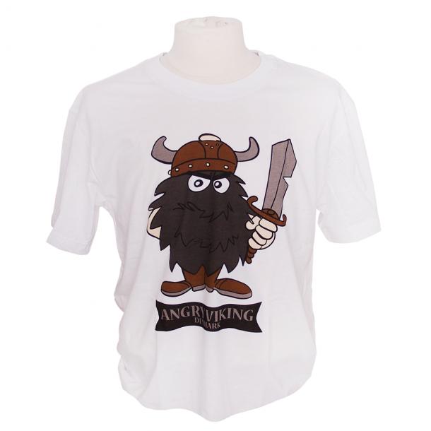 T-shirt Angry Viking Sort