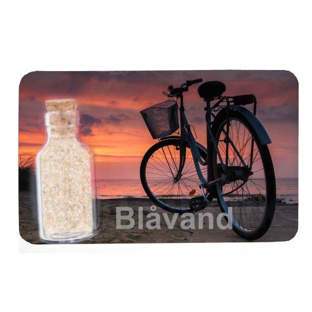 Magnet Med Flaske Cykel Vesterhavet Blåvand