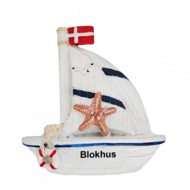 Magnet Båd Vesterhavet Blokhus