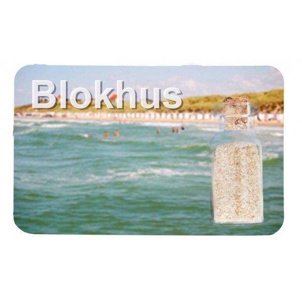 Magnet Med Flaske Havet Vesterhavet Blokhus