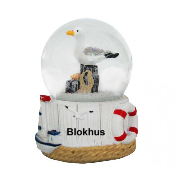 Snekugle Måge Vesterhavet Blokhus