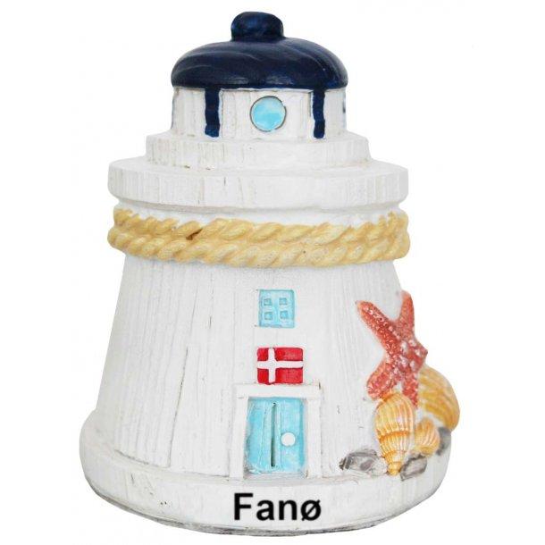 Figur Fyrtårn Vesterhavet Fanø Lille