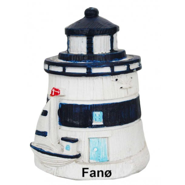 Figur Fyrtårn Vesterhavet Fanø Stor