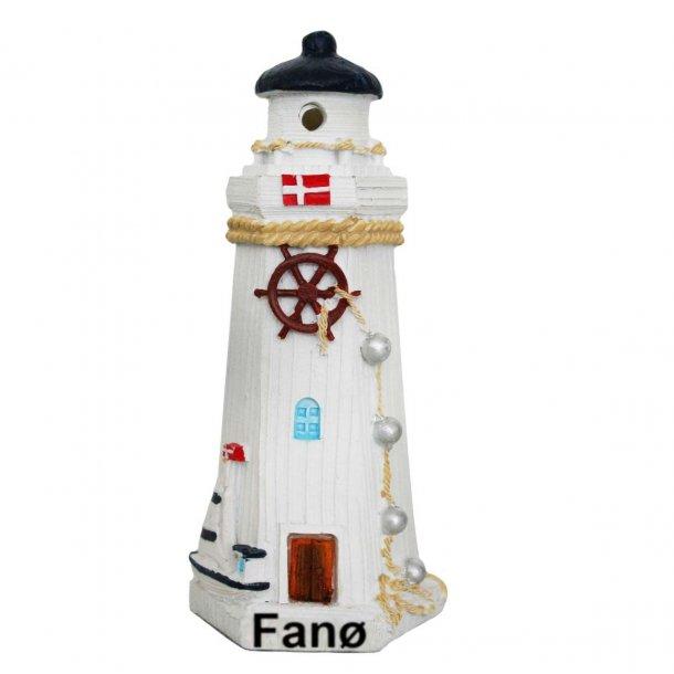 Fyrtårn Med Lys Vesterhavet Fanø