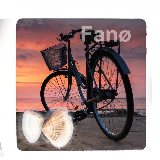 Magnet Med Musling Cykel Vesterhavet Fanø