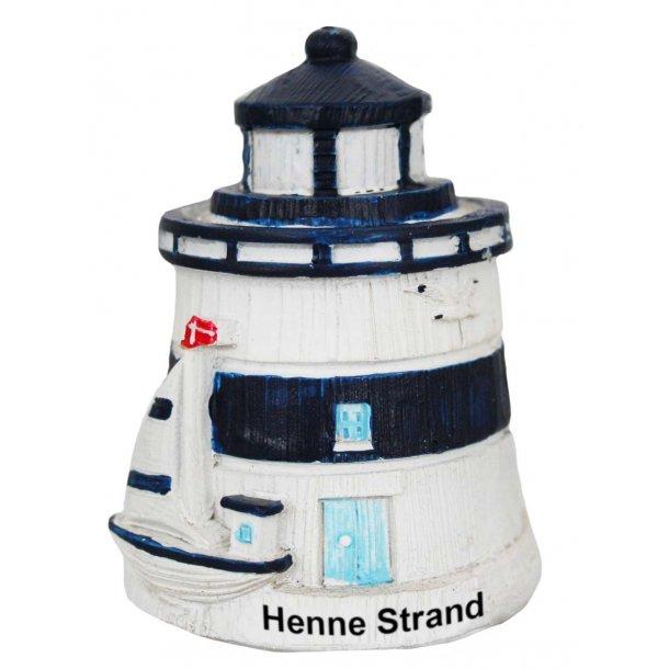 Figur Fyrtårn Vesterhavet Henne Strand Stor