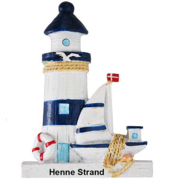 Magnet Fyrtårn Vesterhavet Henne Strand