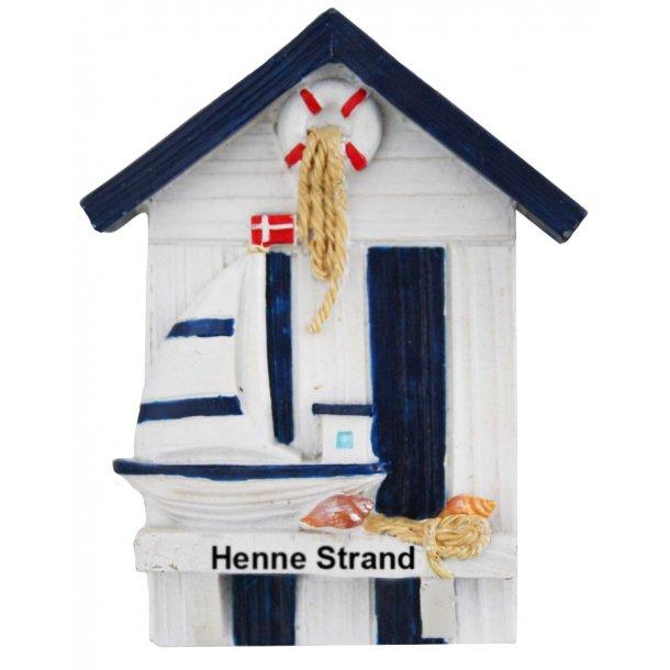 Magnet Hus Vesterhavet Henne Strand