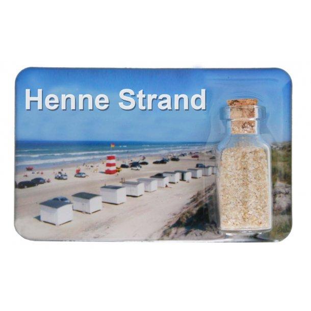 Magnet Med Flaske Huse Vesterhavet Henne Strand