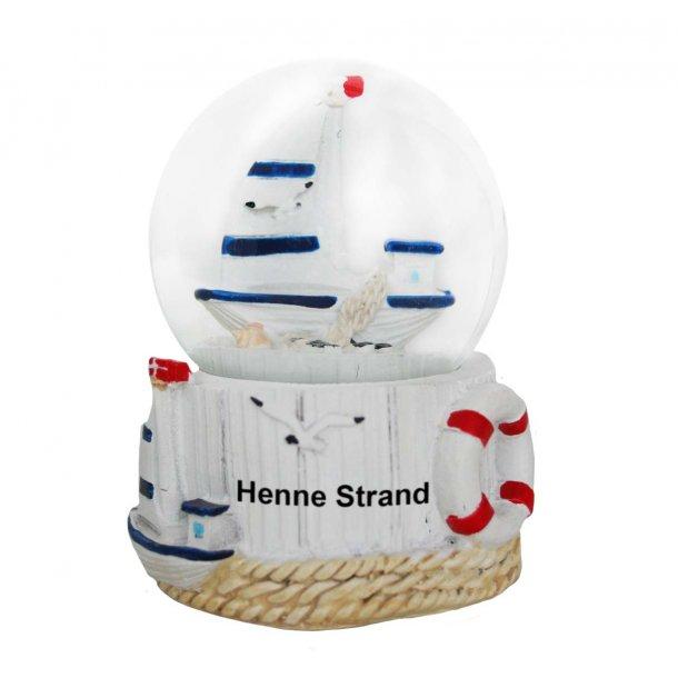 Snekugle Båd Vesterhavet Henne Strand