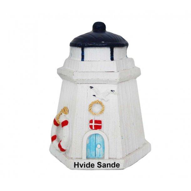 Figur Fyrtårn Vesterhavet Hvide Sande Lille