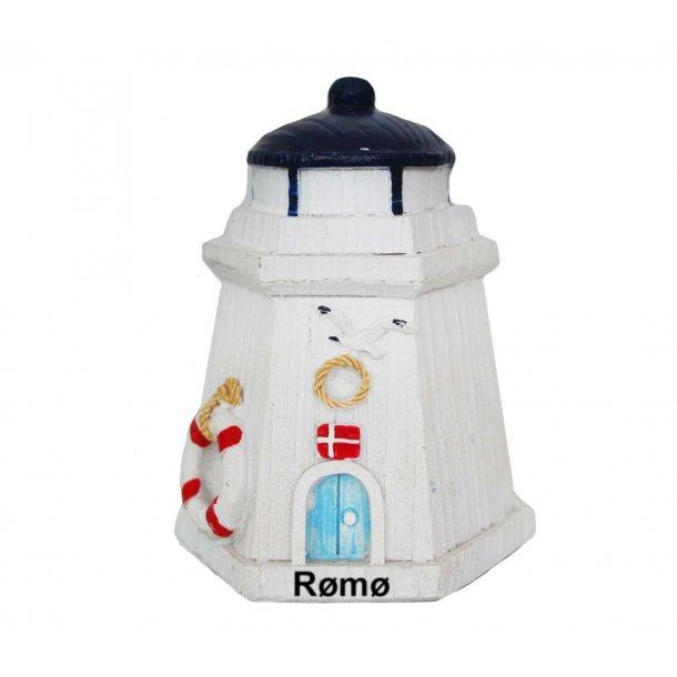 Figur Fyrtårn Vesterhavet Rømø Lille
