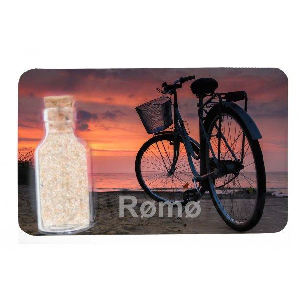 Magnet Med Flaske Cykel Vesterhavet Rømø