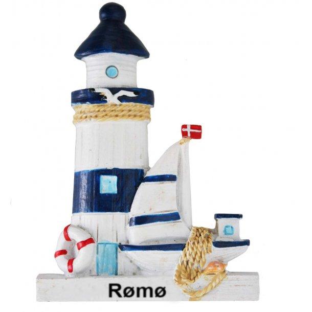 Magnet Fyrtårn Vesterhavet Rømø
