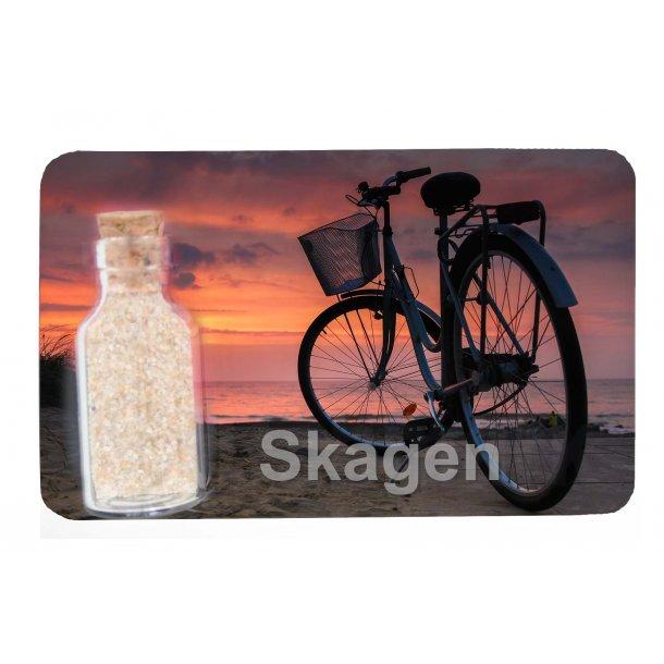 Magnet Med Flaske Cykel Vesterhavet Skagen
