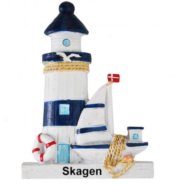 Magnet Fyrtårn Vesterhavet Skagen