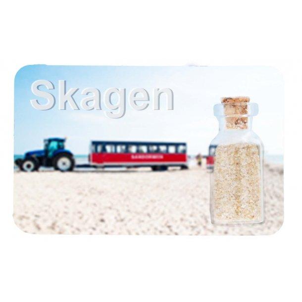 Magnet Med Flaske Sandormen Vesterhavet Skagen