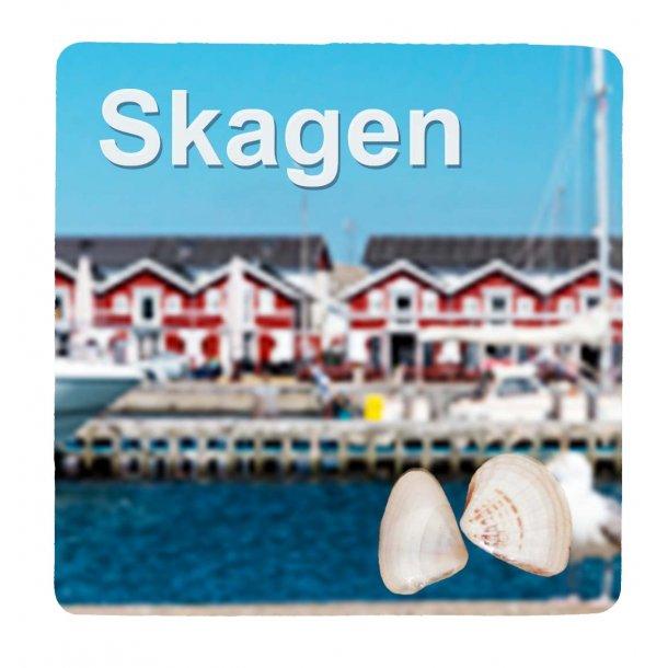 Magnet Med Musling Havn Vesterhavet Skagen