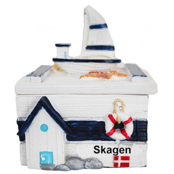 Smykkeskrin Båd Vesterhavet Skagen