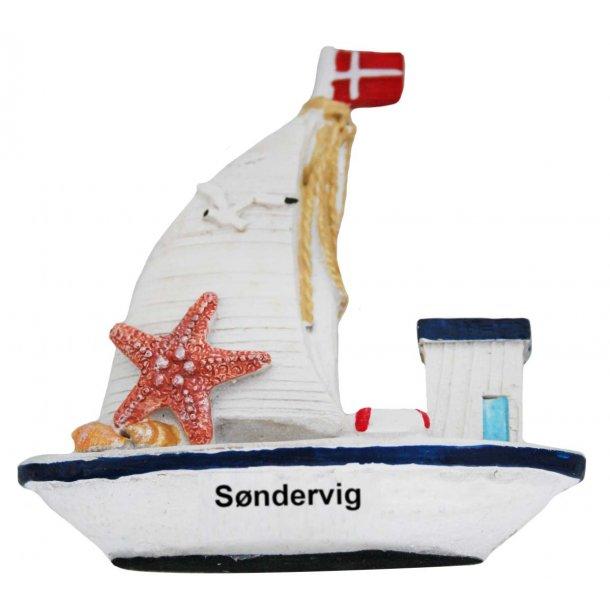 Figur Fiskekutter Vesterhavet Søndervig