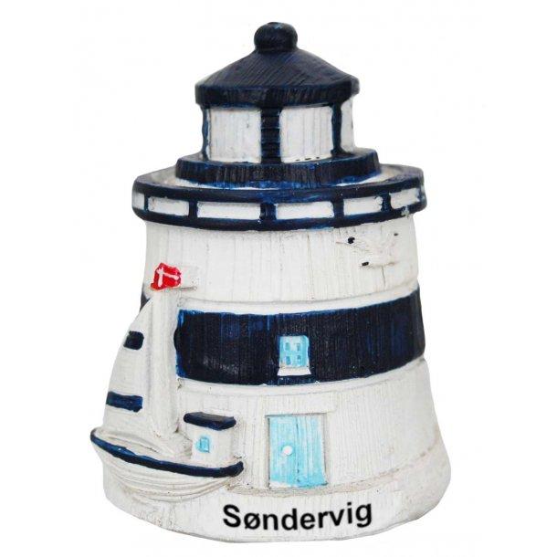Figur Fyrtårn Vesterhavet Søndervig Stor