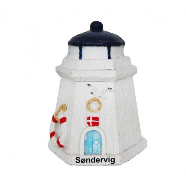 Figur Fyrtårn Vesterhavet Søndervig Lille