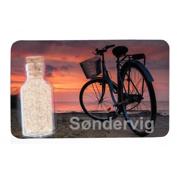 Magnet Med Flaske Cykel Vesterhavet Søndervig