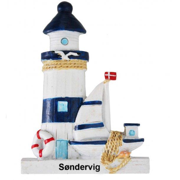 Magnet Fyrtårn Vesterhavet Søndervig