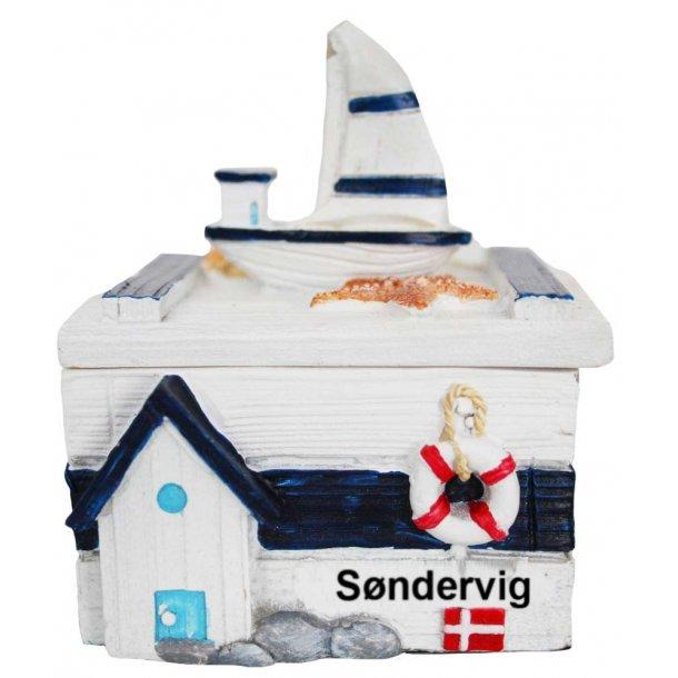 Smykkeskrin Båd Vesterhavet Søndervig