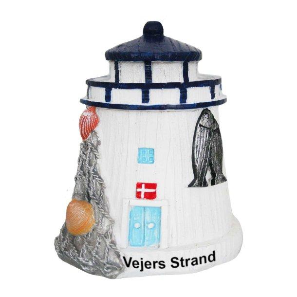 Figur Fyrtårn Vesterhavet Vejers Strand Stor