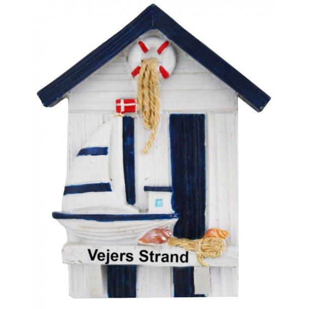 Magnet Hus Vesterhavet Vejers Strand