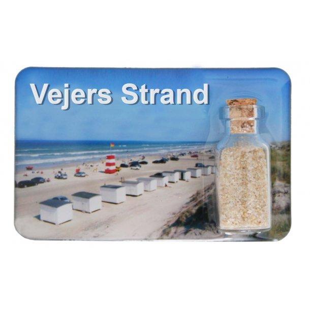 Magnet Med Flaske Huse Vesterhavet Vejers Strand