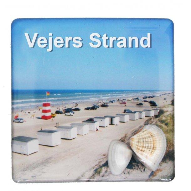 Magnet Med Musling Huse Vesterhavet Vejers Strand