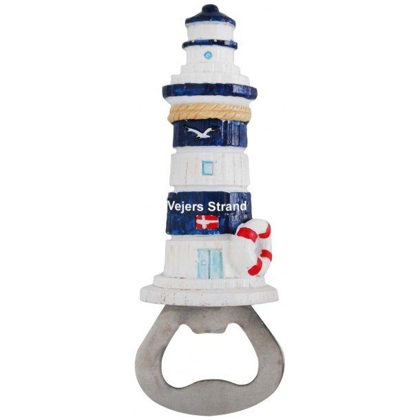 Oplukker Fyrtårn Vesterhavet Vejers Strand Blå
